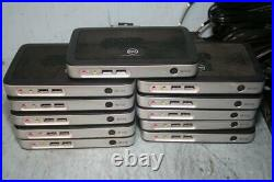 T465 Lot of 11 Dell Wyse Thin Client 3010-T10, 1GHZ, 1GB RAM, 909566-01L