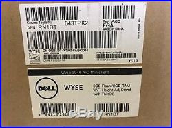 Wyse 5040 AIO Thin Client AMD G-T48E 1.4GHz 2GB 8GB GbE 21.5 ThinOS 8.1 RN1DT